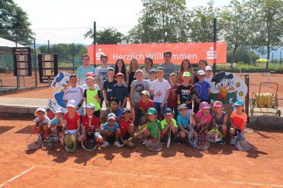 Sommer-Tenniscamp für Kinder und Jugendliche