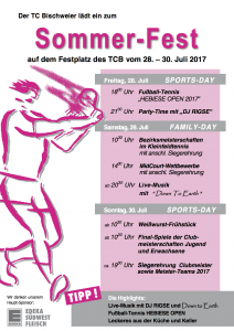 Sommerfest 2017 TC Bischweier