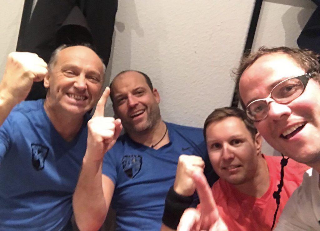 Hallenbezirksmeister Herren 40 2018/19: Der TC Bischweier
