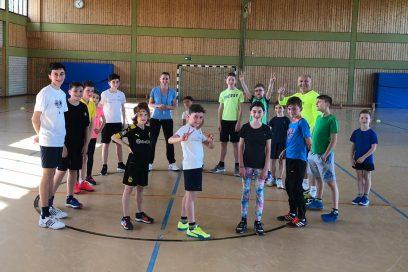Impressionen vom Konditions- und Athletiktraining für unsere Jugend