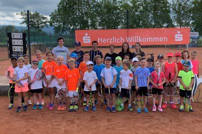 Kids-Cup 2019 mit Bezirksmeisterschaften Kleinfeld beim TC Bischweier