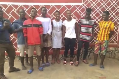 Spiel – Satz – Spende für MALAIKA Smile – ein kleines bewegendes Dankeschön von den Kids aus Uganda